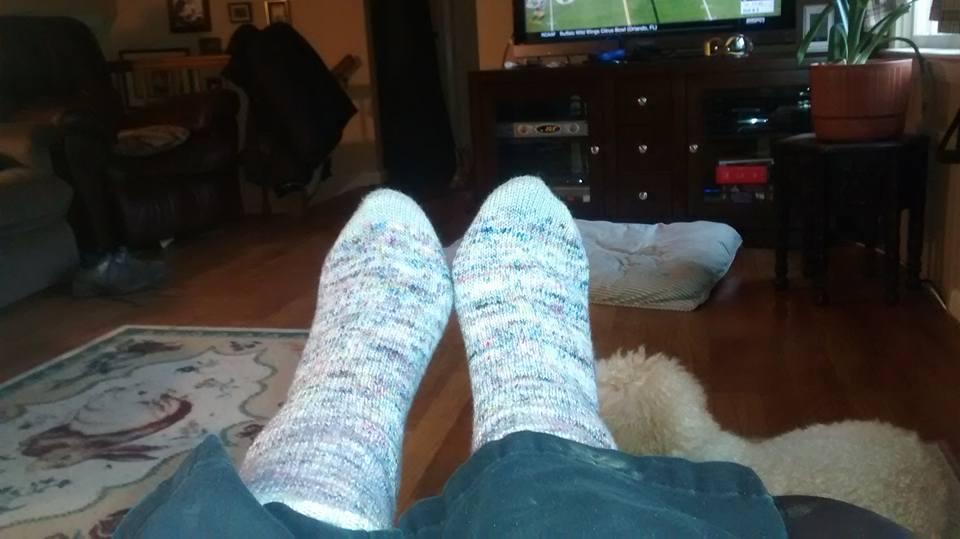 Penny's feet